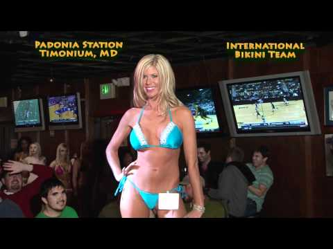 This video shows the winners of a bikini contest held at Padonia Station Bar ...
