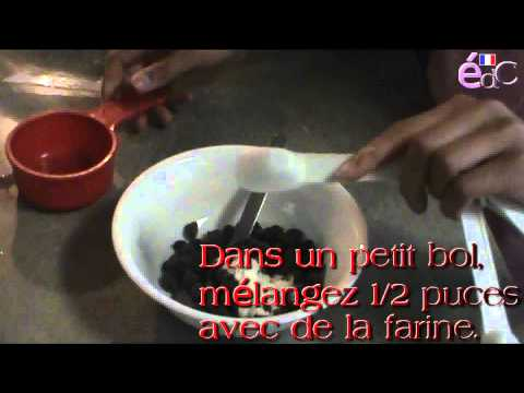 émission de cuisine/cooking show (mint chocolate cheesecake!)