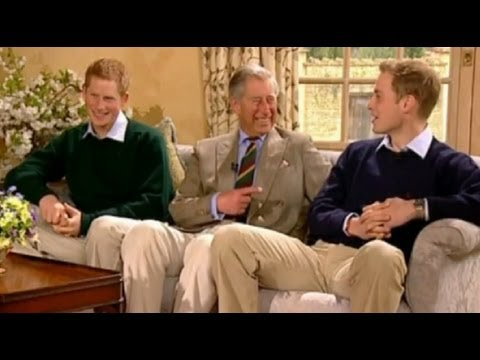 HRH The Prince of Wales, Prince William and Prince Harry are interviewed by Ant and Dec. Recorded in 2006, the interview marked the 30th anninversary of The ...