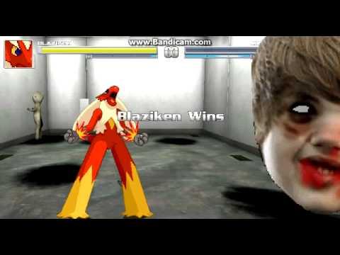 Mugen battles #14 Everyone hates Justin Bieber