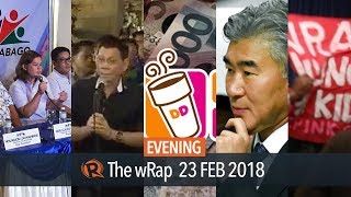 Sara Duterte's new party, Duterte on Malacanang ban, Medialdea meets US ambassador | Evening wRap