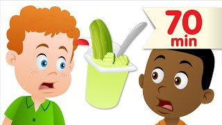 Do You Like Pickle Pudding? + More | Kids Songs | Super Simple Songs