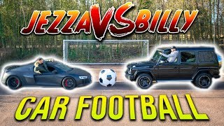 GIANT CAR FOOTBALL BATTLE | F2FREESTYLERS