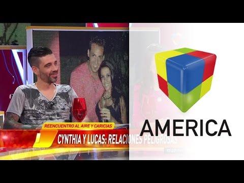 Cynthia y Lucas: las pruebas que confirman el beso dentro de la Casa