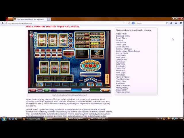 www.vyherniautomatyzdarma.net - Hrací automaty zdarma bez registrace, slots machines free