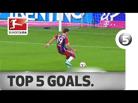 Top 5 Goals from Matchday 5 - Vote for your Goal of the Week