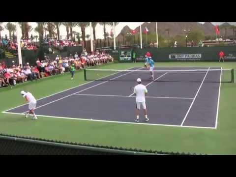 Fognini / Seppi vs. Huey / Inglot - 2014 BNP Paribas Open