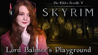 THE BEST HORROR MOD I'VE PLAYED SO FAR! | Lord Balmer's Playground | TES V: Skyrim Horror Quest Mod