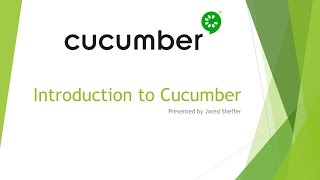 Introduction to Cucumber
