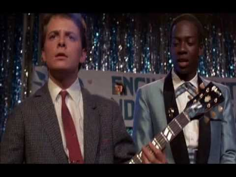 Marty Mcfly & Song If This is It Huey Lewis and The News