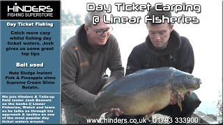 Day ticket carping @ Linear Fisheries