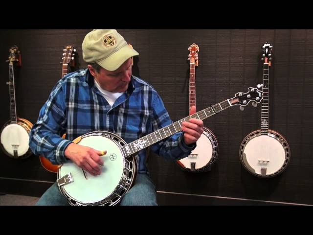 Custom mahogany banjo