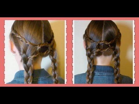 Equestrian Braids (Double Braid Knotted Hairstyle)
