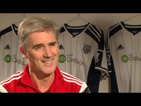 Alan Irvine previews Premier League clash between West Bromwich Albion & Chelsea