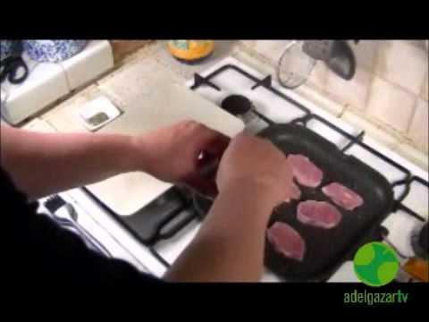 Carne de cerdo a la plancha -  Recetas que te ayudan a adelgazar