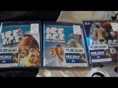 ICE AGE Trilogy Bluray Collection Unboxing (Dawn Of The Dinosaurs 3D)