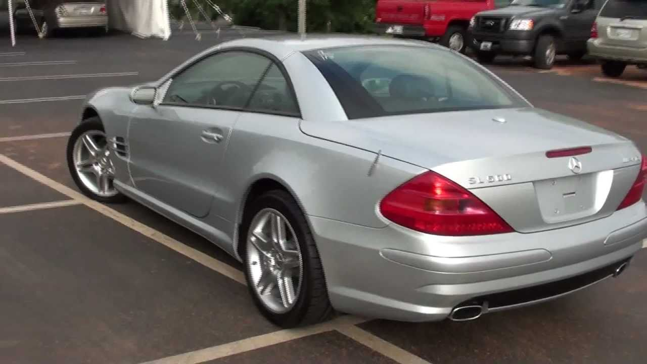 for sale 2006 mercedes benz sl500 amg p5687 youtube