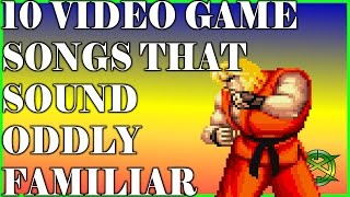 10 Video Game Songs That Sound Oddly Familiar