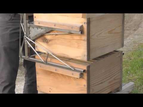 Пчеловодческая тележка подъемник
