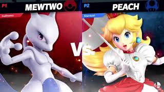 HailHomura (Chrom/Mewtwo) vs Koveto (Peach) - Pools | Archanea Saga