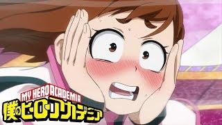 Final Exam: Ochako and Aoyama vs Thirteen | My Hero Academia