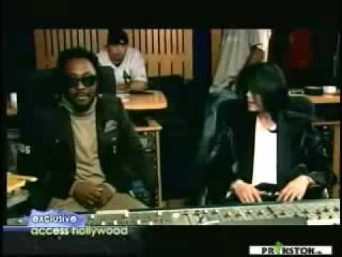 Michael jackson interview in studio with will i am
