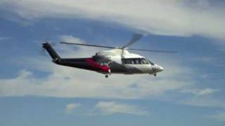 Huge RC Helicopter - Electric Sikorsky S-76 Compilation