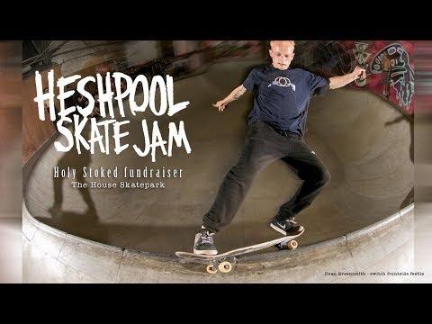 Holy Stoked Fundraiser Jam at the House Skatepark, Sheffield