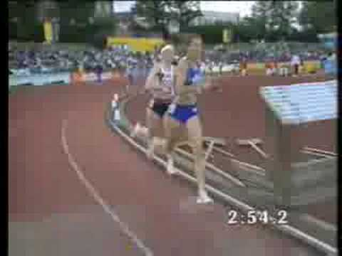 Sonia O'sullivan World Record 2000m video