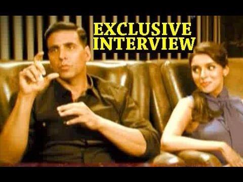 Akshay Kumar plays a prank on Asin - Exclusive Interview