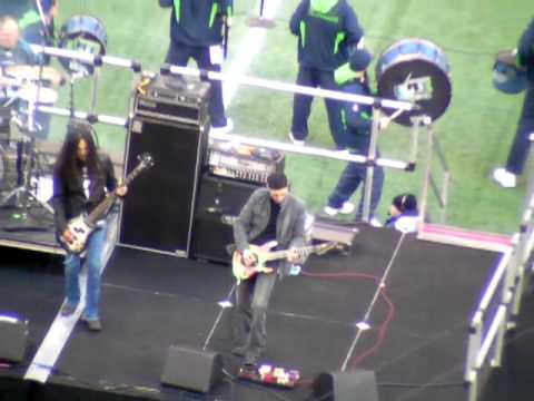 DeGarmo, Wilton, Inez and Smith at Seattle Halftime Show Part I