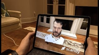 Scandy Demo: Volumetric Video Created With an iPhone X