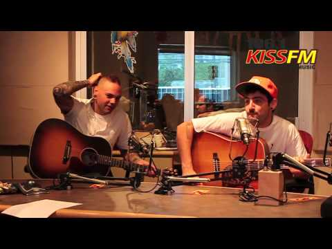 Hedley interview at 1061 KISS FM