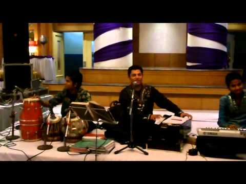 Habib khan singer performing at Le Meridien Hotel in Mauritius...
