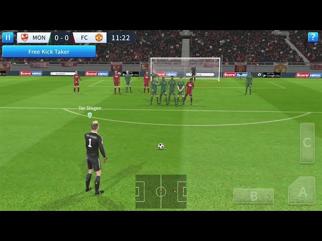 Dream League Soccer 2019 Android Gameplay