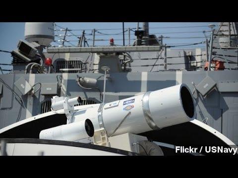 Navy Installs Laser Prototype On Persian Gulf Ship