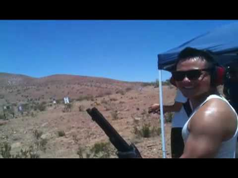Shooting a Shotgun with One Hand