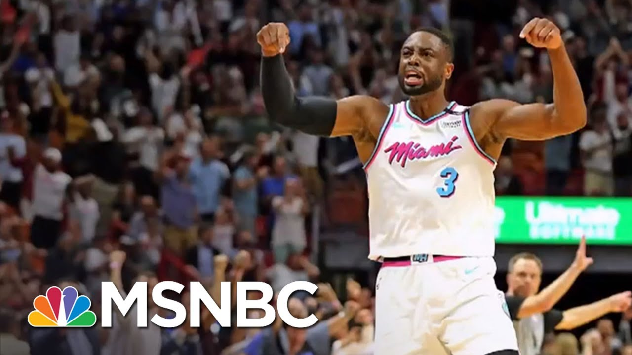 Miami's Dwayne Wade Pays Tribute To Parkland Shooting Victim | MTP Daily | MSNBC