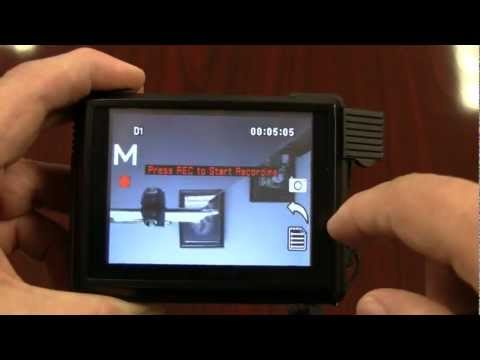 Mini Touch DVR Touch Screen Demo - Shows a brief run through of some functions.