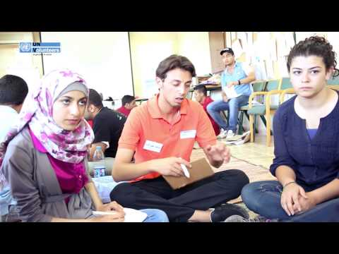 UNV Arab Youth Volunteering - Summer Camp in Jordan  - August 2013