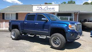 """2015 GMC Denali lifted on 20x14's using a 6"""" bds lift kit"""