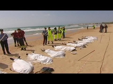 Italy: Atleast13drowninmigrantboatoffSicily - no comment