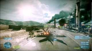 BF3 - How You Should Take Flags...With Jets