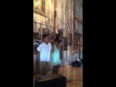 Shailyn and Kyson are at it again!  Filipino Girl Sings and Filipino boy is on the beat.