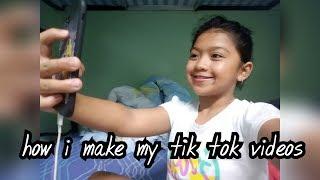 How i made my tik tok videos | it's shia