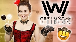 WESTWORLD COWBOY HAT LOLLIPOPS - NERDY NUMMIES