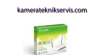 TP-Link TP-Wa801nd Access Point Kurulumu