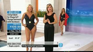 HSN models in swimwear