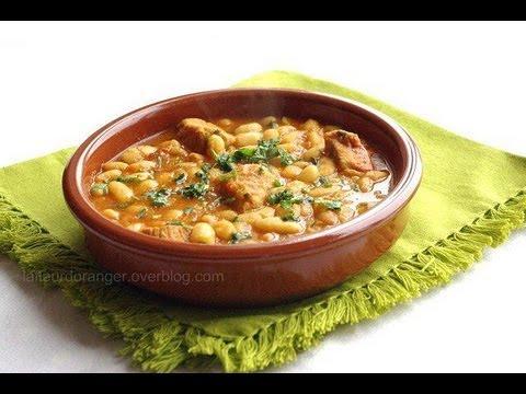 Recette des haricots blancs la marocaine loubia for Asticots blancs cuisine