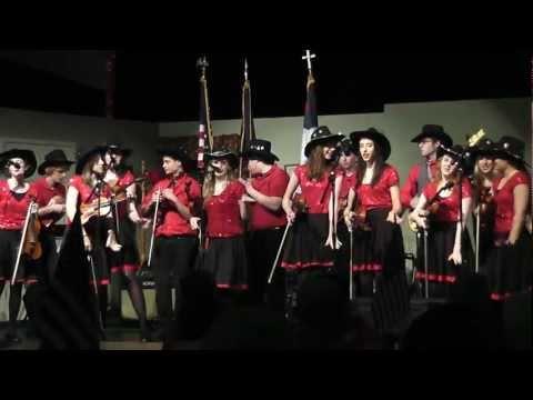 Fiddlers ReStrung 2011 - Old Joe Clark - Washtenaw Christian Academy - 05/16/2011